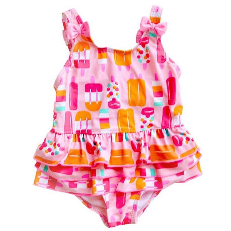 Stroje kąpielowe dla dzieci Girls One Piece Stroje kąpielowe dla - Odzież dla niemowląt - Zdjęcie 3