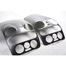 One Piece 3D Carbon Fiber Center Control Panel Gear Cover Car Sticker Suitable for VW Volkswagen Beetle 2007-2010 Accessories
