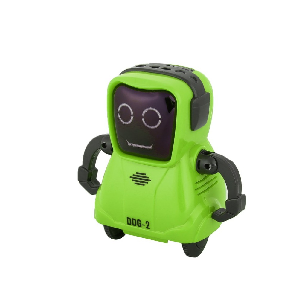 DDG-3 DDG-2  Intelligent Smart Mini Pocket Voice Recording RC Robot Recorder Freely Wheeling 360 Rotation Arm Toys for Kids Gift 5