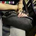 Dropshipping Best Selling weave knit skull ring chain Clutch diagonal package packet handbag girls' Party Finger Rivets Bag H093