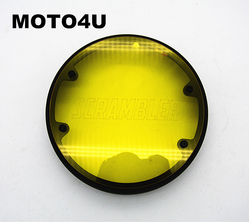 MOTO4U Motorcycle headlight LED protection for BMW R Nine T 9T Scrambler for bmw r nine t techometer speedometer ring cover r 9t