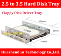 Free Shipping   New Desktop Floppy Disk Driver Tray    2.5 inch to 3.5 inch Hard Disk Bracket   Metal  Tray  Giving away screws