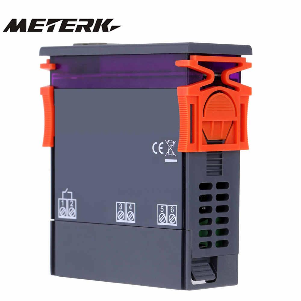 Thermomètre numérique 250 V 10A thermorégulateur thermostat régulateur de température pour incubateur Thermocouple-50 ~ 110 degrés + capteur