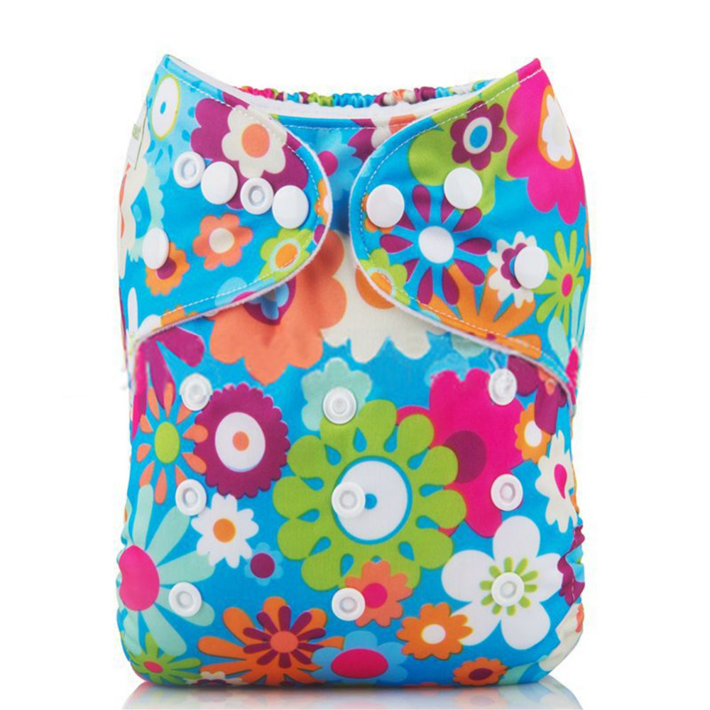 Hot Sale Diaper New Design Baby Cloth Diapers Hook And Loop Adjustable Boy Girl Newborn Washable Waterproof Reusable Nappies