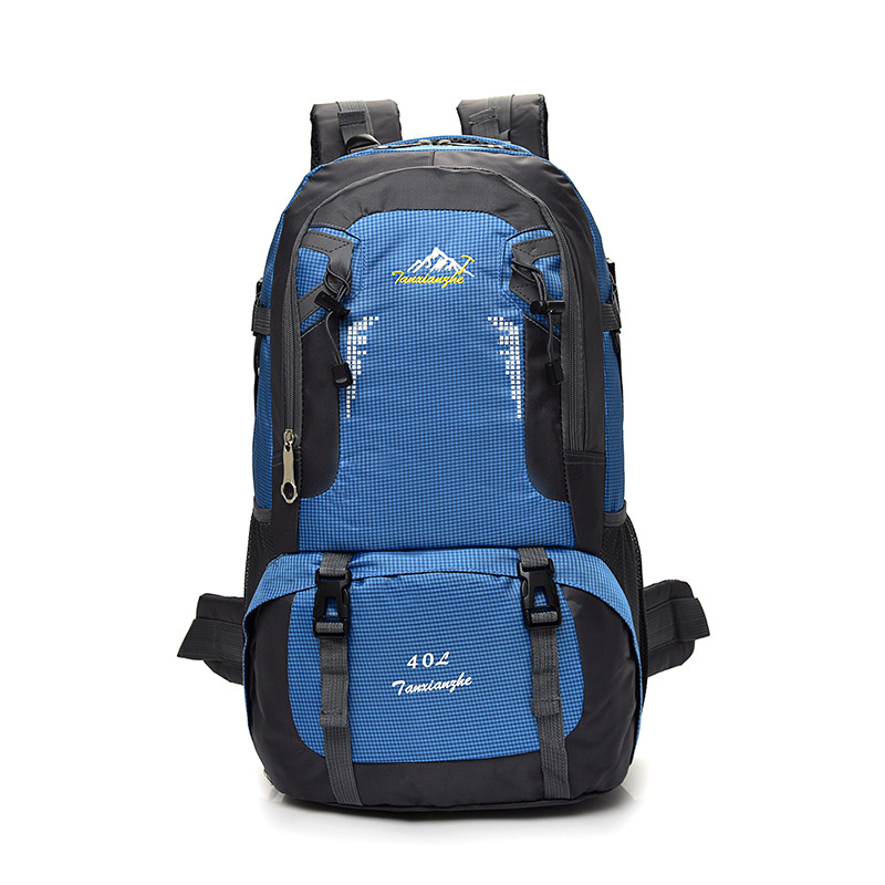 Large Capacity Outdoor Travel Backpack Rucksack Mountaineering Sports Bags Waterproof Nylon Camping Hiking Shoulder Bag 8610 in Climbing Bags from Sports Entertainment