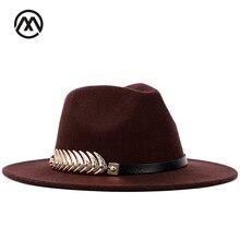 Clásico fedora feather Accesorios Otoño y el invierno cálido sombreros  vintage hombres jazz caps bowler sombrero dca7e43a527