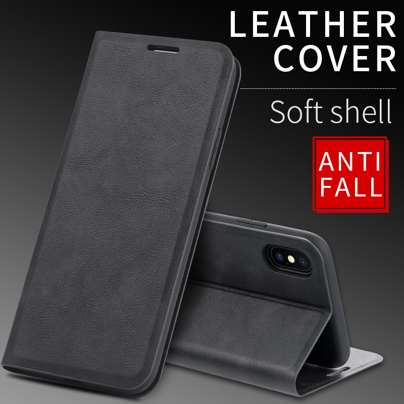 Reno Z Luxury Retro Wallet Stand <font><b>Flip</b></font> Leather Case For <font><b>OPPO</b></font> <font><b>F9</b></font> A7 A7X K1 K3 R17 Realme 5 3 Pro Q X Lite Book <font><b>Cover</b></font> Magnetic Case image