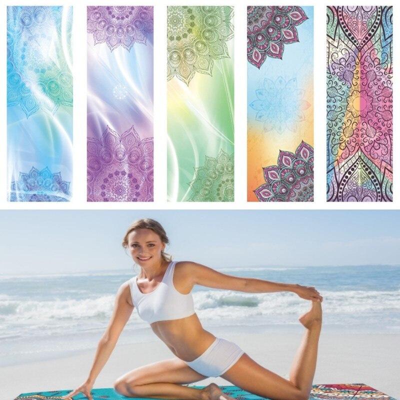Yoga Mat Towel Sports Direct: 2mm Portable Yoga Mat Towel Sports Fitness Towels Non Slip