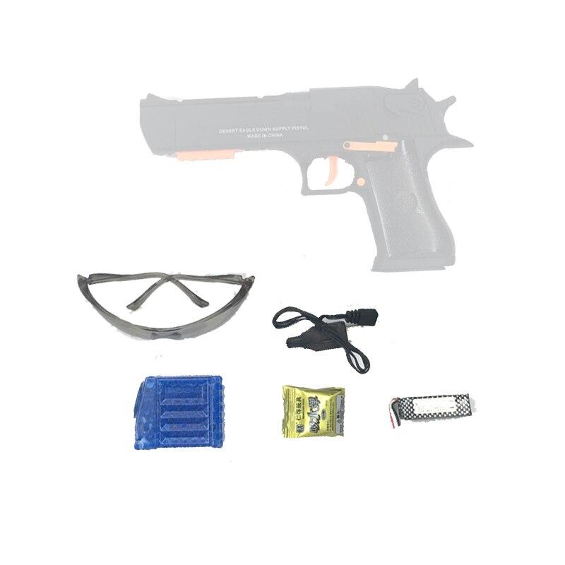 Version en nylon de Renxiang de blaster de gel du pistolet électrique de boule de gel d'eau de jouet d'aigle de désert