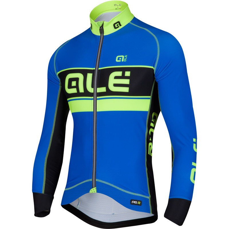 2018 ALE Cycling Jerseys Ropa Ciclismo Cycling Jersey Long Sleeve Sports Clothing Full V ...