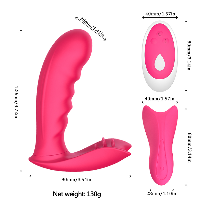 Sex Toys for Woman for Woman Panty Massage Butterfly Vibrator with Remote Vaginal Vibration Stimulation Vibrating Panties Erotic in Vibrators from Beauty Health