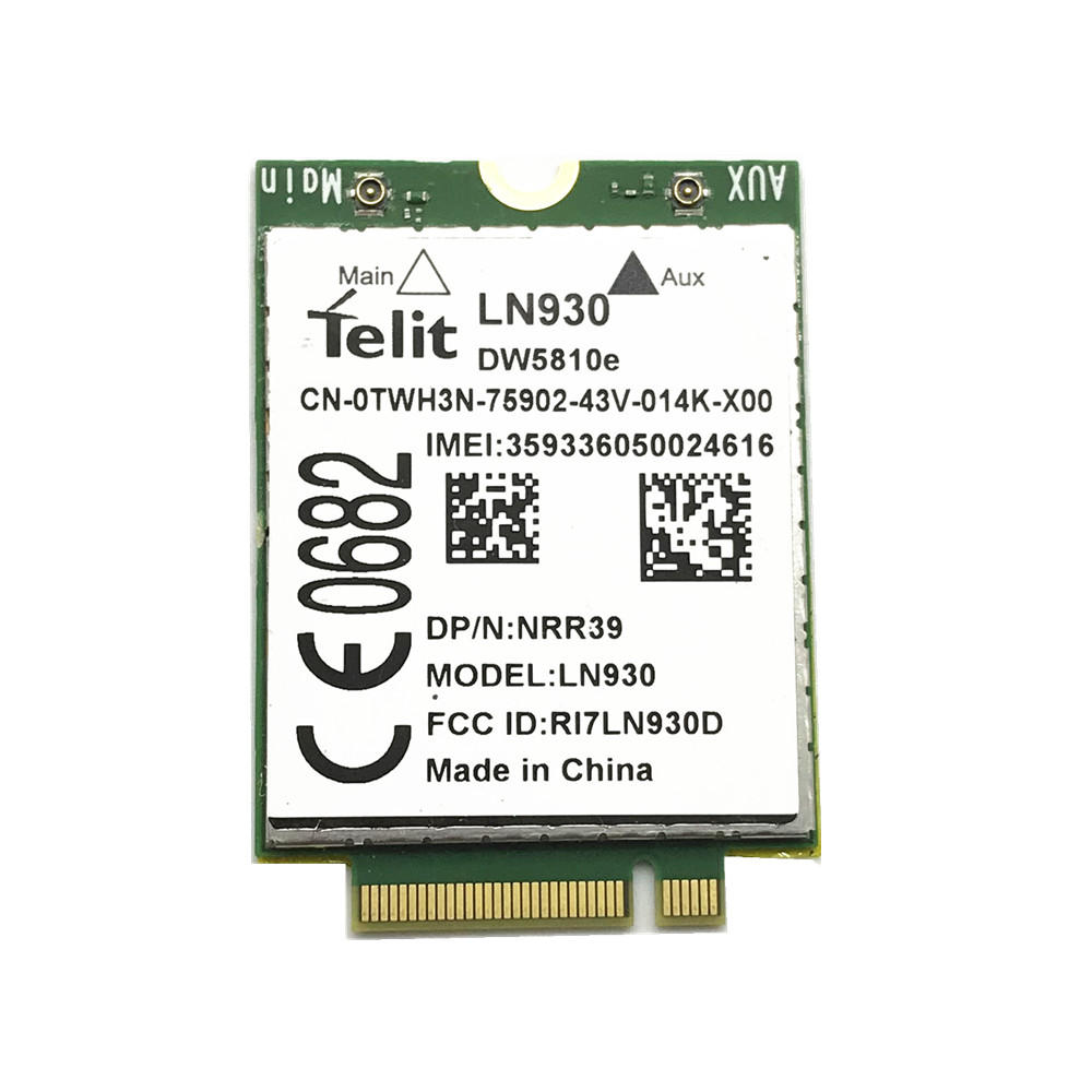 For TELIT LN930 DW5810e 4G Wireless LTE Mobile WWAN Card 4G/LTE/DC-HSPA+ WWAN Card