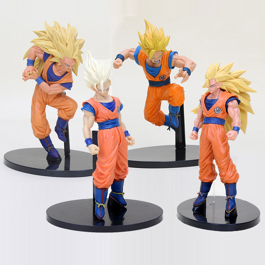 Toys & Hobbies Dragon Ball Z Action Figures Gogeta Vegetto Figure Super Saiyan 19cm Pvc Son Goku Vegeta Dbz Toys Budokai Tenkaichi 3 Cheap Sales