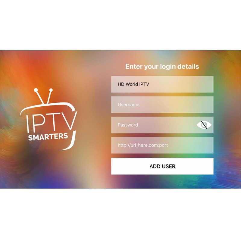 HD World IPTV + 9000 Live 9000 VOD 4K HD canal meilleur pour l'europe arabe asiatique afrique Latino amérique Android M3U IPTV abonnement