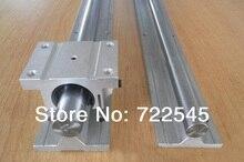 16 мм Линейный Железнодорожный Набор 2xTBR16-1000 мм + 2xTBR16UU Блок Для Частей С ЧПУ Комплект