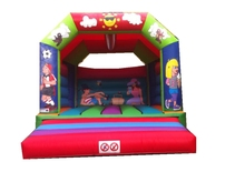 bouncy slide Commercial princess inflatable bouncer with various theme