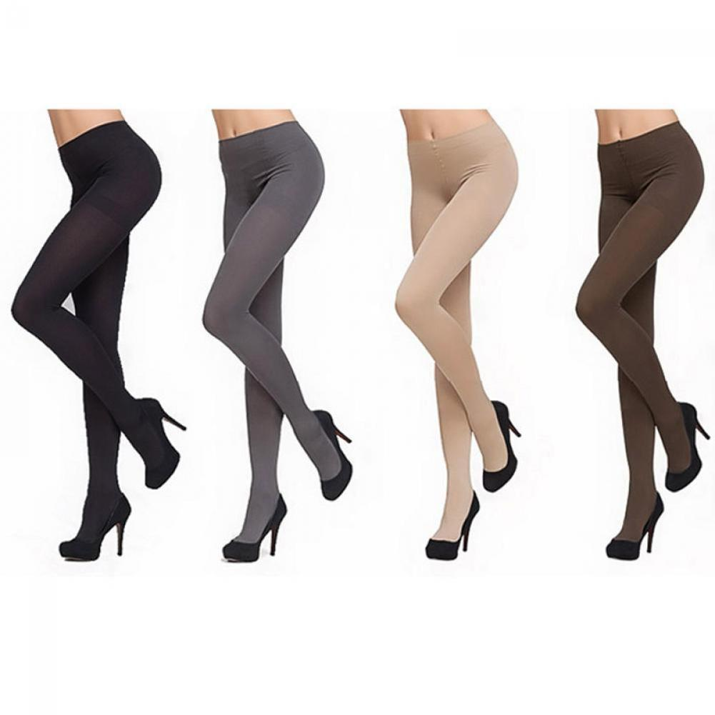 Buy Fashion Women Thick 120D Stockings Pantyhose Tights Opaque Long Footed 2108 hot sale dropshipping