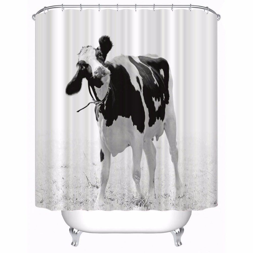 Sawyer Mill Cow Shower Curtain - Lange General Store