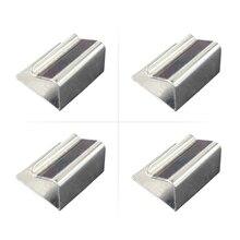 JGAURORA 3d принтер с подогревом кровать зажимы для 3d принтера черный алмаз стекло и алюминиевая пластина 4 зажимы каждая упаковка