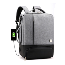 Anti Theft Laptop Backpack Bag Men Women College Student School Bagpack Male USB Chaging Backpacks 15.6 Inch Notebook Travel Bag 2018 new casual usb male men backpack anti theft password lock design school backpack for teens college student multi pocket bag