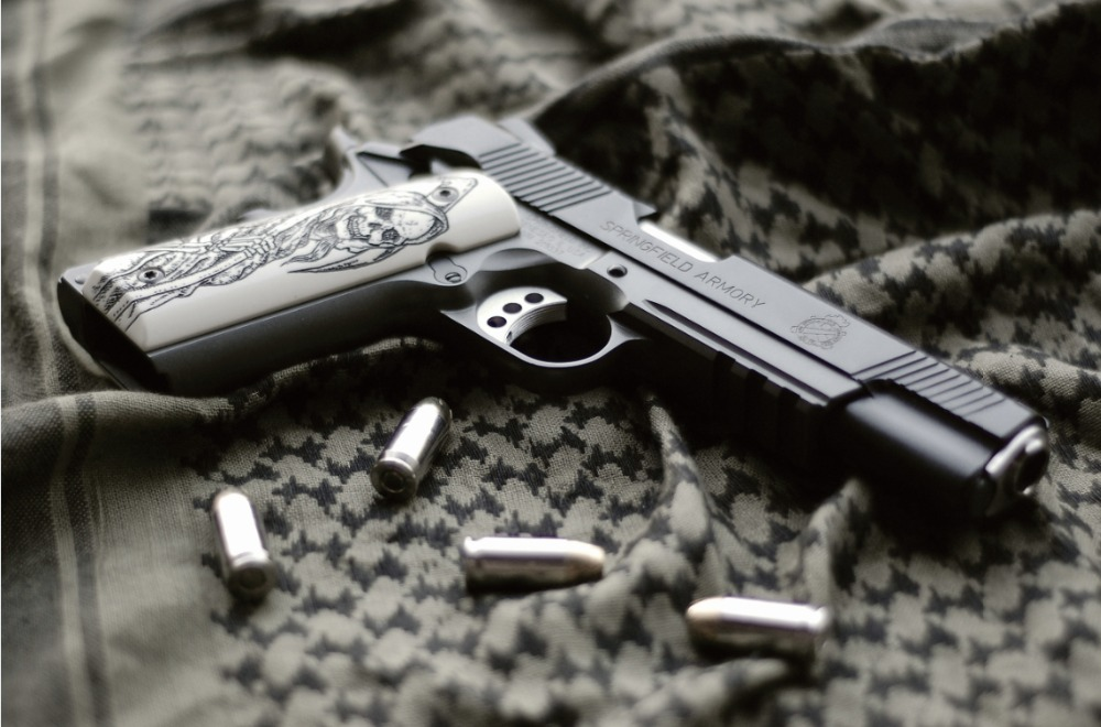gun print wallpaper - photo #38