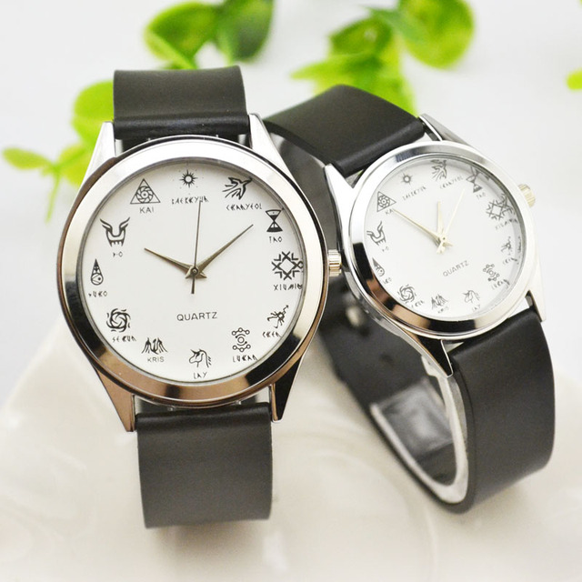 Lovers watch strap new Korean fashion retro fashion watch Korean version student
