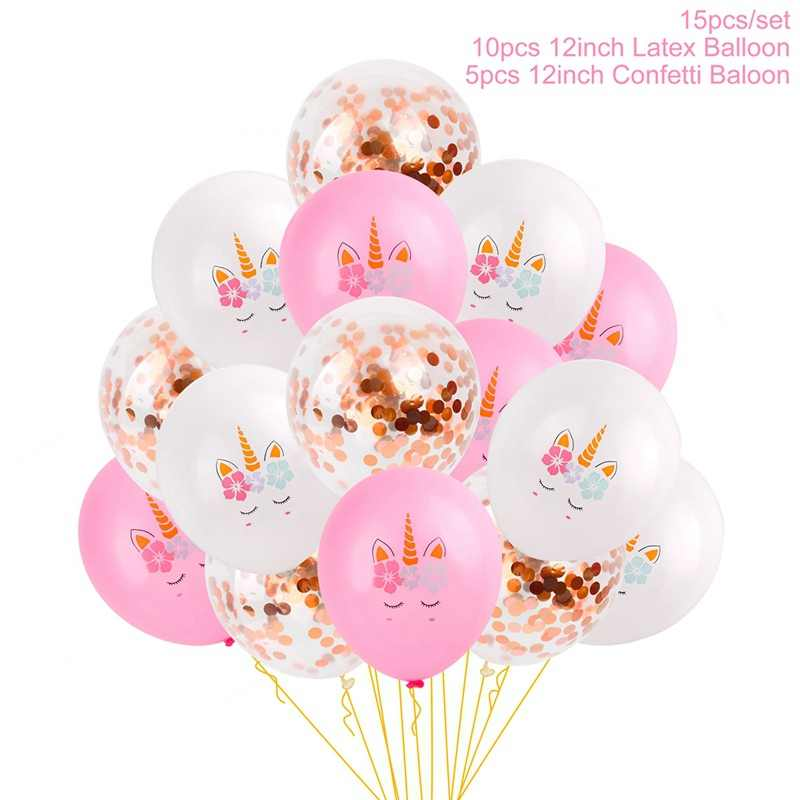 1st Birthday Party Decorations Kids Girl Pink First Decor Banner Balloons One Year Old