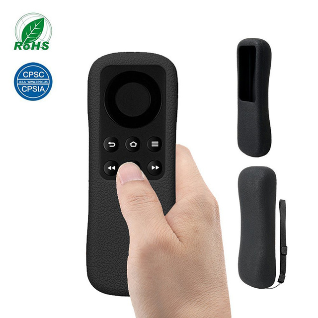 สำหรับ Amazon Fire TV Stick รีโมทคอนโทรลกรณี SIKAI ซิลิโคนป้องกันลื่นล้างทำความสะอาดได้น้ำหนักเบา