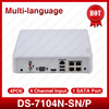 HIK DS 7104N SN P Multi Language CCTV 4CH POE NVR For POE IP Camera With
