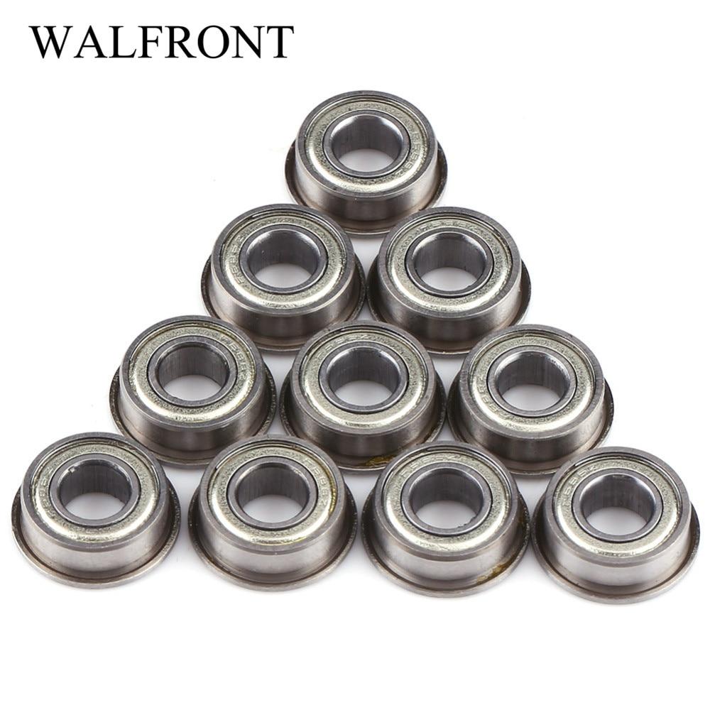 4x12x4mm 10 Pcs Metal Double Shielded Ball Bearing Bearings 4*12*4 604ZZ