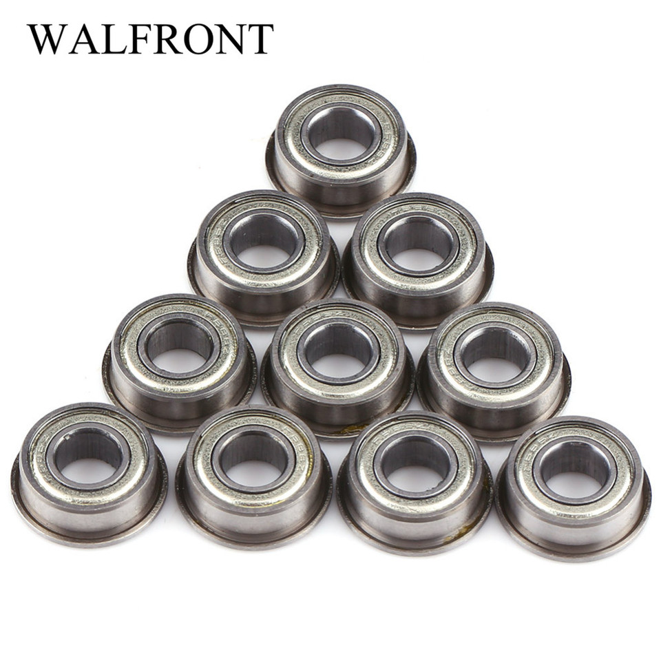SF686zz Stainless Flanged Ball Bearing Bearings F686zz 6*13*5 6x13x5 mm 10PC