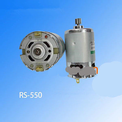 RS-550 DC7.2V Gear Motor Replacement For Hitachi Rechargeable Electric Drill 9 Teeth image