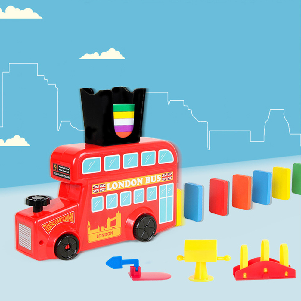 Детский набор домино, игрушки, домино, поезд, домино, набор блоков, строительные и складные игрушки, блоки для мальчиков и девочек, творческие подарки для детей