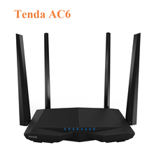 WiFi Repetidor Tenda AC6 11AC 1200 M Dual Band Wireless wifi router VPN WDS WPS Wi-Fi 802.11AC Inglés Firmware
