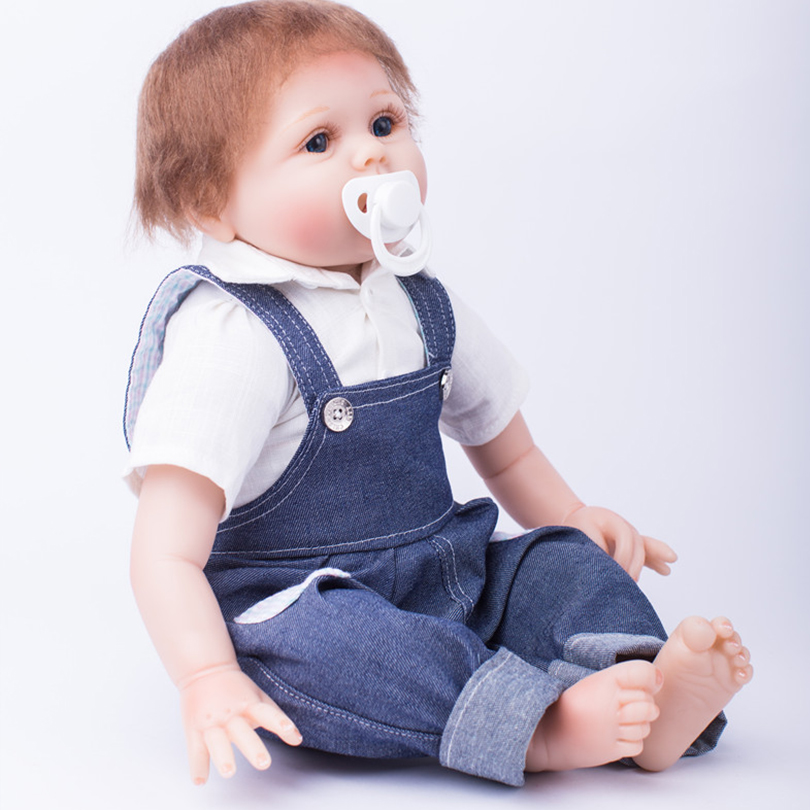 Cotton Body Silicone Reborn Dolls Babies Alive Doll Lifelike Brinquedos Baby Toys Newborn Baby Doll Cute Gift for Children hot sale toys 45cm pelucia hello kitty dolls toys for children girl gift baby toys plush classic toys brinquedos valentine gifts