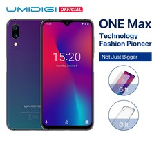"Get more info on the UMIDIGI One Max Global Version 4GB 128GB 6.3"" Waterdrop Full-Screen 4150mAh Dual SIM Smartphone Wireless Charging"