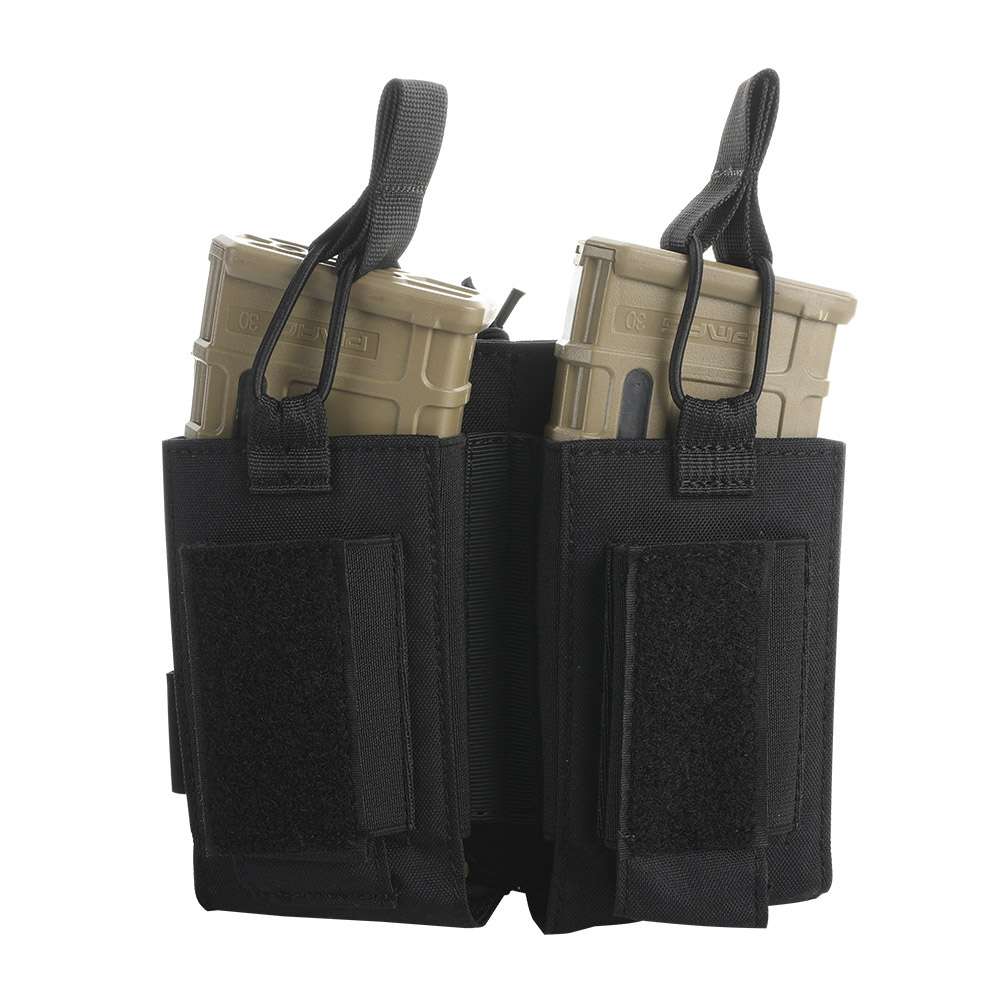 Tactical Nylon Molle Magazine Pouch Army Accessories AK M4 Pistol Double Magazine Pouches Paintball Game
