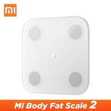 Xiao Mi Mi Body Scale 2 Mi Fit APP สมาร์ท Mi Body FAT Scale 2 2019 ใหม่