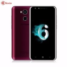 Original Doogee MT6750 Y6 Smartphone 5.5 pulgadas Octa Core 4G LTE Teléfono Móvil 2 GB + 16 GB Android 6.0 13MP IDENTIFICACIÓN de Huellas Dactilares