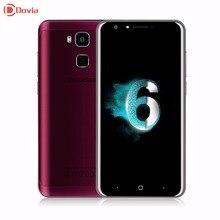 Origine Doogee Y6 Smartphone 5.5 pouce MT6750 Octa base 4G LTE Mobile Téléphone 2 GB + 16 GB Android 6.0 13MP D'empreintes Digitales ID