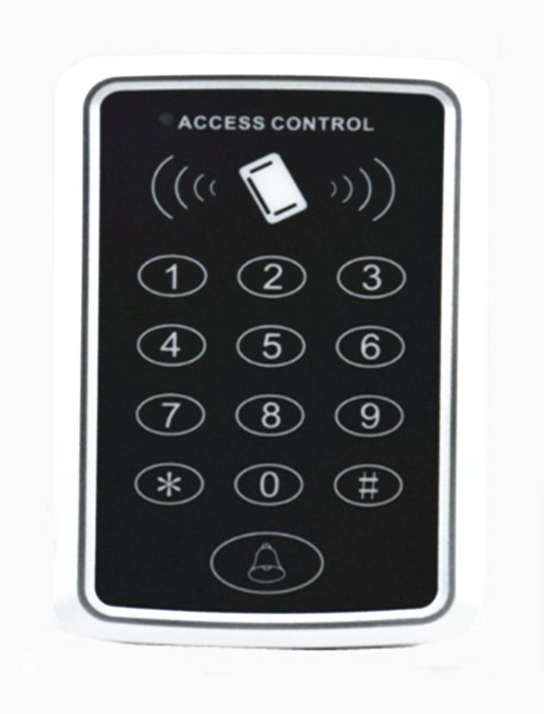Free Shipping  RFID Reader & Keypad Door Access Control Waterproof Keypad Case +10 ID  keys
