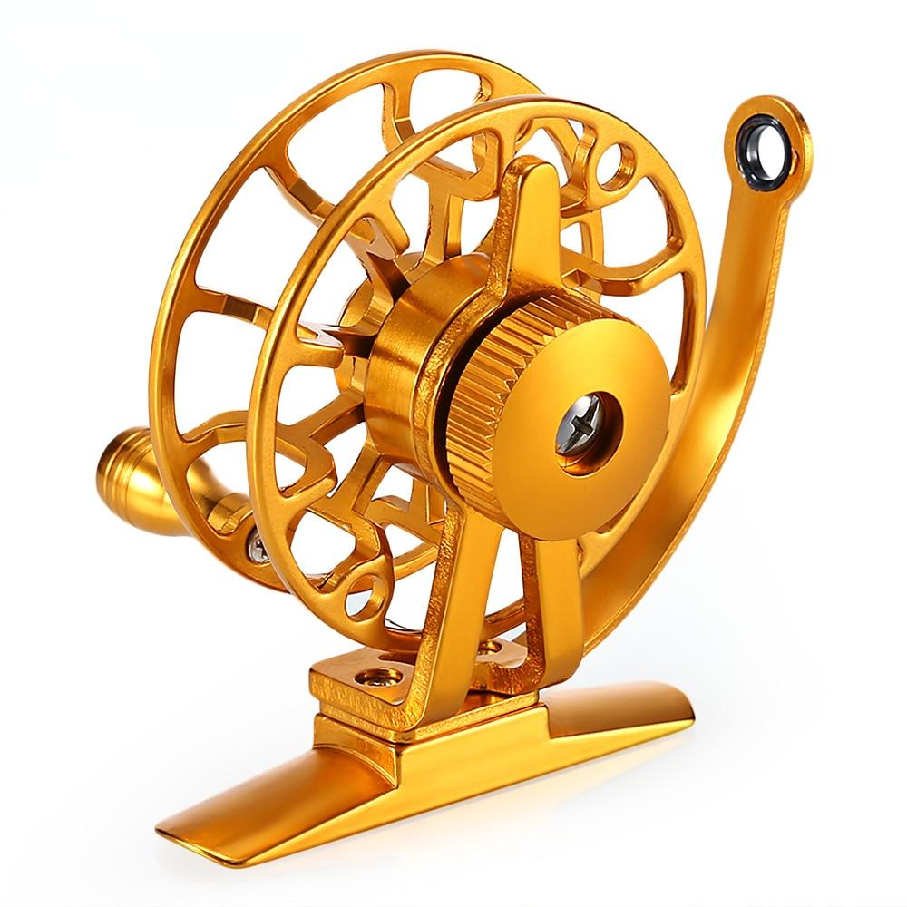 Full Metal Right Hand Fly Fishing Reel 2 + 1 Ball Bearings 1:1 Lightweight Raft Ice Fishing Wheel Fishing Tackle Accessories