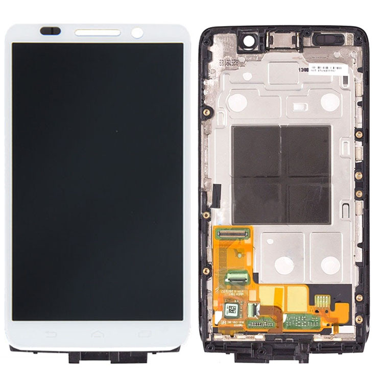 ФОТО White For Motorola Droid Mini XT1030 LCD Screen Display Digitizer Touch Glass Assembly+Frame Repair Part High Quality