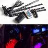 22W 60 Flexible LED Car Truck Tailgate Light Bar Red And White 12V 72LED Running Brake