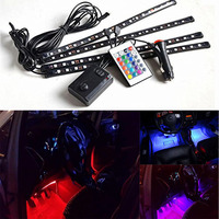 22W 60 Flexible LED Car Truck Tailgate Light Bar Red And White 12V 72LED Running Brake
