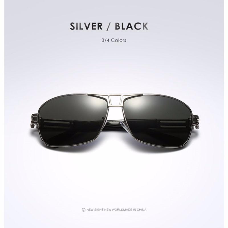 Roupai Polarized Super Cool Military Glasses For Police Driving Mens Square Anti Glare Sunglasses UV400 377 (8)