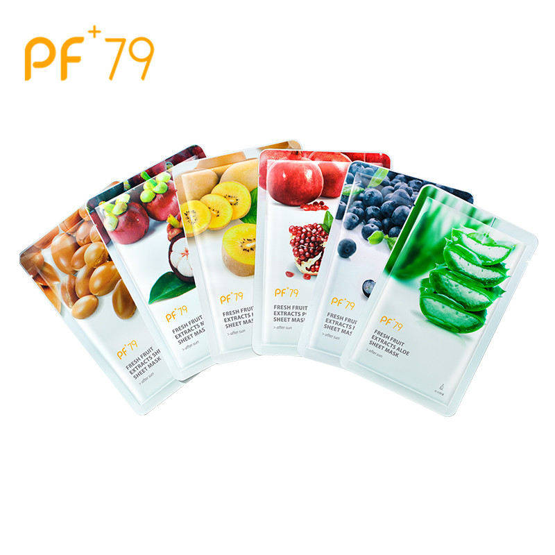 PF79 Skin Care mask for the face Shea Butter Mask Moisturizing Oil Control Blackhead Remover Sheet Face Mask wholesale in Treatments Masks from Beauty Health