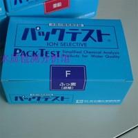 Nuevo Kit de prueba de calidad de agua de iones de fluoruro WAK F para el kit