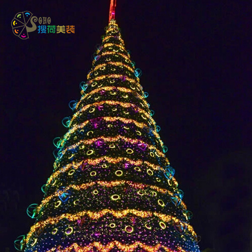 5 6m golden rattan outdoor christmas lighting decoration large frame large christmas tree lighting on aliexpresscom alibaba group - How To Decorate A Big Christmas Tree