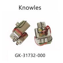 2 個 GK 31732 ノウルズバランスアーマチュアトリプルドライバ受信機スピーカー in 耳モニター diy